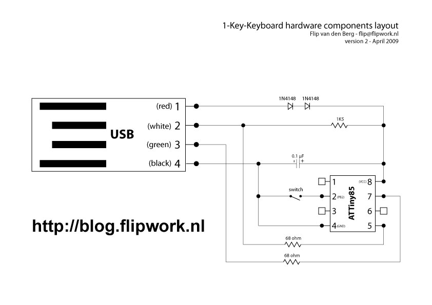 Schematic Diagram Of Attiny2313 Keyboard Interface Test Board ... on cable schematic diagram, air conditioning schematic diagram, bluetooth schematic diagram, led schematic diagram, cruise control schematic diagram, speaker schematic diagram, hdmi schematic diagram, sd card schematic diagram, battery schematic diagram, microphone schematic diagram, ethernet schematic diagram,